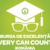 Incep inscrierile la Bursa de Excelenta Every Can Counts