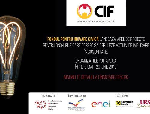 Fondul pentru Inovare Civică a lansat un nou apel de proiecte