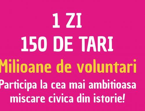 Let`s Do It, Romania! face curat pe toată planeta într-o singură zi