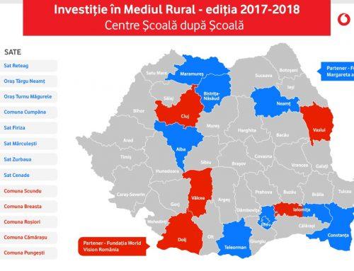 """34 de beneficiari în programul """"Investiție în mediul rural"""", ediția 2017-2018"""