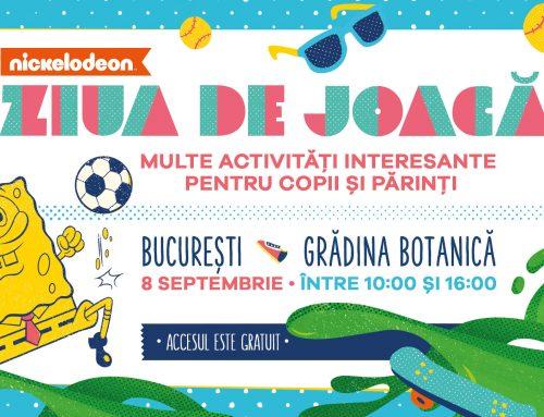 Nickelodeon organizează în România prima ediție a evenimentului Ziua de Joacă