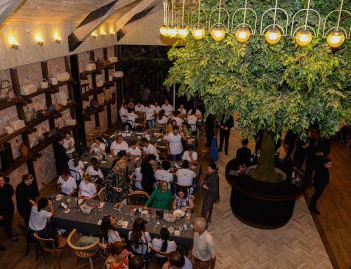 """""""Cină în familie"""", pregătită și servită de 59 de elevi din Tabăra Meseriașilor din Țara lui Andrei"""