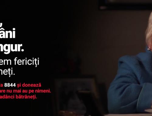 """""""Fericiți la adânci bătrâneți"""" – o campanie socială pentru bătrânii României"""