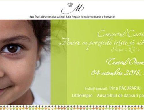 Organizația Umanitară CONCORDIA organizează a patra ediție a concertului său caritabil