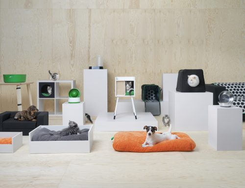 IKEA a lansat Lurvig, o colecție creată special pentru iubitorii de animale de companie